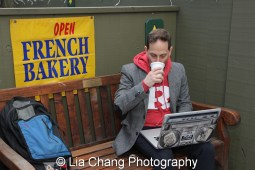 Outside C'est La Vie French Bakery in New Hope, PA. Photo by Lia Chang