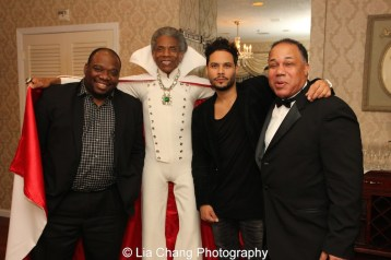 "James ""Biscuit"" Rouse, André De Shields, Steven ""Styles"" Rodriguez and David Alan Bunn. Photo by Lia Chang"