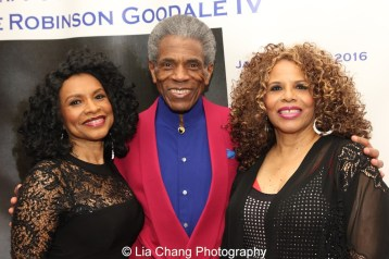 Norma Jean Wright, André De Shields and Alfa Anderson. Photo by Lia Chang