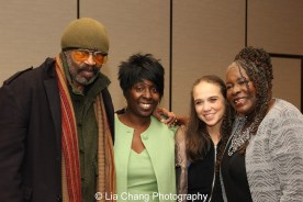 Anthony Chisholm, Phyllis Stickney, Carla Brothers and Ebony Jo-Ann. Photo by Lia Chang