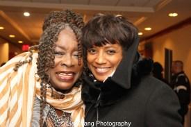 Ebony Jo-Ann and Marva Hicks. Photo by Lia Chang