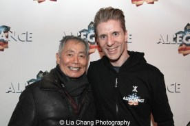 George Takei and Lorenzo Thione. Photo by Lia Chang