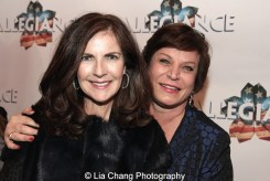 Karen Tanz and Wendy Gillespie. Photo by Lia Chang