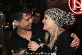 Telly Leung and Katie Rose Clarke. Photo by Lia Chang