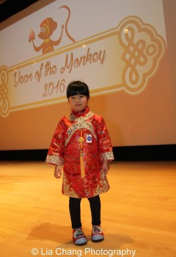 Zoey Wong at the Metropolitan Museum of Art's annual Lunar New Year festival on February 6, 2016 in New York. Photo by Lia Chang