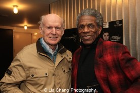 James Murtaugh and André De Shields share scribe Lonnie Carter as a friend and collaborator. Photo by Lia Chang