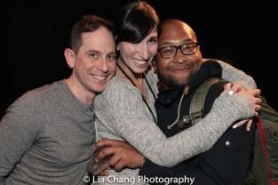 Garth Kravits, Nikka Graff Lanzarone and Harold Lewter. Photo by Lia Chang