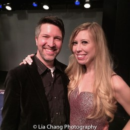 Brad Simmons and Emily McNamara. Photo by Lia Chang