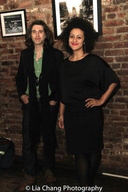 RED SPEEDO playwright Lucas Hnath and playwright Lileana Blain-Cruz. Photo by Lia Chang