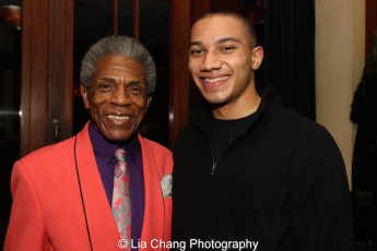 """André De Shields and John Manzari appeared in """"The Wiz is 40"""" at Summerstage last August. Photo by Lia Chang"""