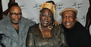 Lee Truesdale, Ebony Jo-Ann and George Faison. Photo by Lia Chang