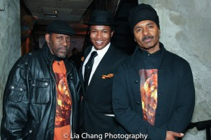 Mark Bowers, Solomon Hicks and Chulo Gatewood. Photo by Lia Chang