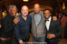 André De Shields, Kevin Ligon, Wayne Pretlow and John-Michael Lyles. Photo by Lia Chang