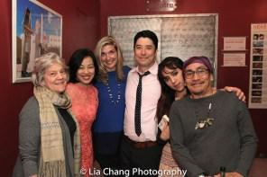 Sandra Stratton, Lia Chang, Tami Schuch-Yaegashi, James Yaegashi, Zoe Stratton and Jojo Gonzalez. Photo by Garth Kravits