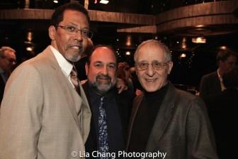 Peter Jay Fernandez, Joe White and Joe Grifasi. Photo by Lia Chang