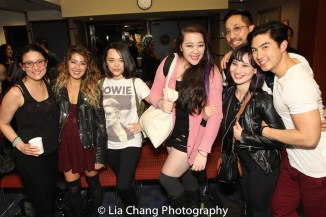 Diane De Boer, Alex Chester, Mi Dori, Alison Lea Bender, Dax Valdes, Rebecca Lee Lerman and Devin Ilaw. Photo by Lia Chang