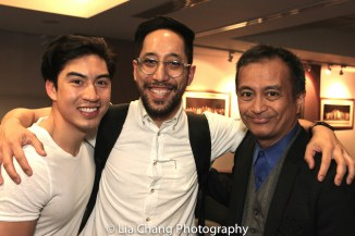 Devin Ilaw, Dax Valdes and Nicky Paraiso. Photo by Lia Chang
