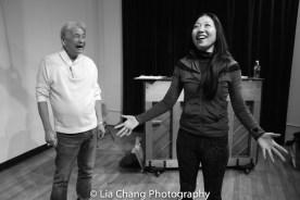 Alvin Ing and director Lainie Sakakura. Photo by Lia Chang