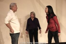 Alvin Ing, Virginia Wing and director Lainie Sakakura. Photo by Lia Chang