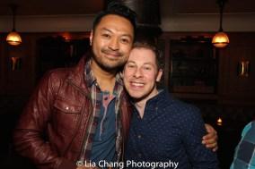 Billy Bustamante and Peyton Royal. Photo by Lia Chang
