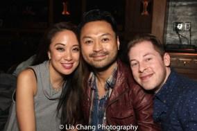 Jaygee Macapugay, Billy Bustamante, Peyton Royal. Photo by Lia Chang