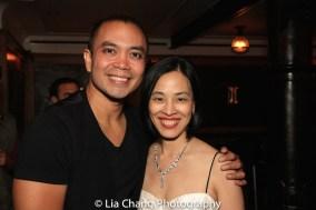 Jose Llana and Lia Chang. Photo by Garth Kravits