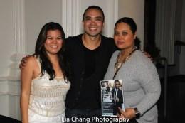 Liz Casasola, Jose Llana and Nicole Adrienne Ponseca. Photo by Lia Chang