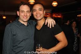 Matt Stine and Jose Llana. Photo by Lia Chang