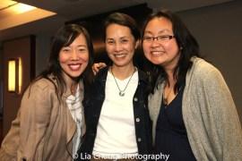 Pearl Sun, Karen Tsen Lee and Winnie Lok. Photo by Lia Chang
