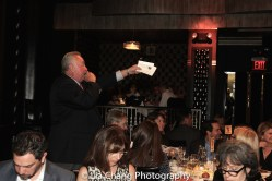 Auctioneer Robin Treadway. Photo by Lia Chang