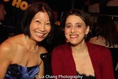 Suzen Murakoshi and Judy Kuhn. Photo by Lia Chang