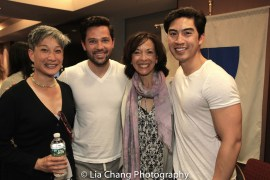 Valerie Lau-Kee Lai, Jason Tam, JoAnn Hunter and Devin Ilaw. Photo by Lia Chang