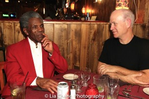 André De Shields and Mike Sikes. Photo by Lia Chang