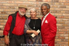 Eric Nathan, Toni Marie and André De Shields. Photo by Lia Chang