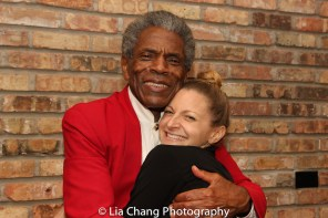 André De Shields and Lauren Molina, currently starring in WONDERFUL TOWN at the Goodman Theatre. Photo by Lia Chang
