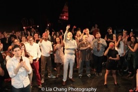 THE WILD PARTY celebrates opening night. Photo by Lia Chang