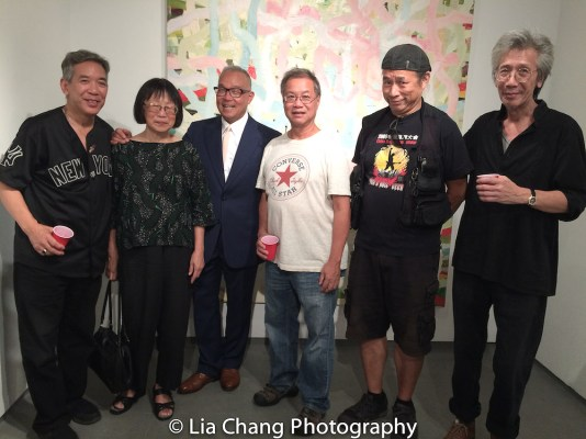 Henry Chang, Lillian Ling, Arlan Huang, Wing Lum, Vic Huey and Geoff Lee. Photo by Lia Chang