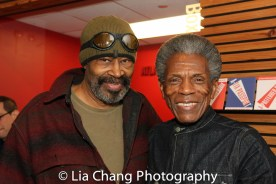 Anthony Chisholm and André De Shields. Photo by Lia Chang