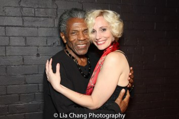 André De Shields and Jamey Hood. Photo by Lia Chang