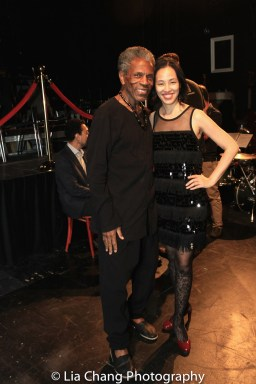 André De Shields and Lia Chang. Photo by Lia Chang