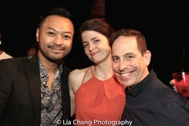 Billy Bustamante, Sarah Beth Pfeifer and Garth Kravits. Photo by Lia Chang