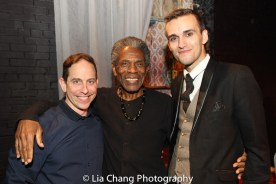 Garth Kravits, André De Shields and DW. Photo by Lia Chang
