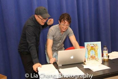 John Carrafa and Andre Gerle. Photo by Lia Chang