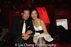 Peter Kwong and Lia Chang received the 2016 Martial Arts Cult Classic Cinemas Award for Big Trouble in Little China's 30th Anniversary at the 4th Annual Urban Action Showcase and Expo at the AMC Empire 25 Times Square in New York on November 12, 2016. Photo by Garth Kravits