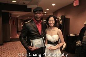 Robert Samuels and Lia Chang. Photo by Lori Tan Chinn