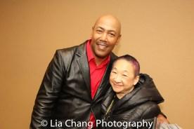 Robert Samuels and Lori Tan Chinn. Photo by Lia Chang