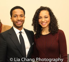 André Holland and Carra Patterson. Photo by Lia Chang