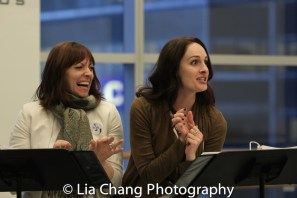 Pamela Bob and Laura Hall. Photo by Lia Chang