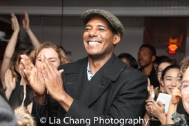 Billy Eugene Jones at the opening night celebration at Atelier Florian. Photo by Lia Chang