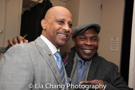 Ruben Santiago-Hudson and Michael Potts. Photo by Lia Chang